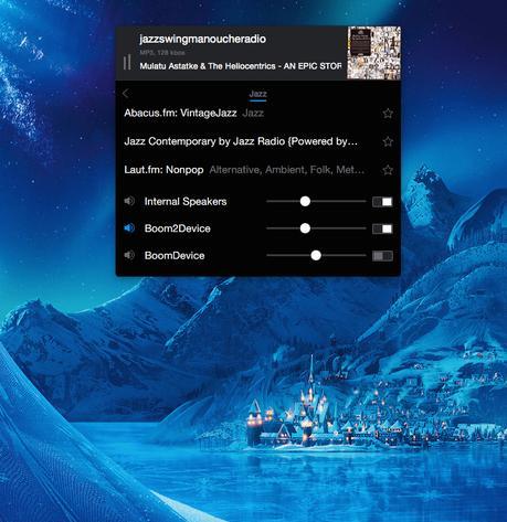 Snowflake: découverte facile de radios en streaming sur Mac