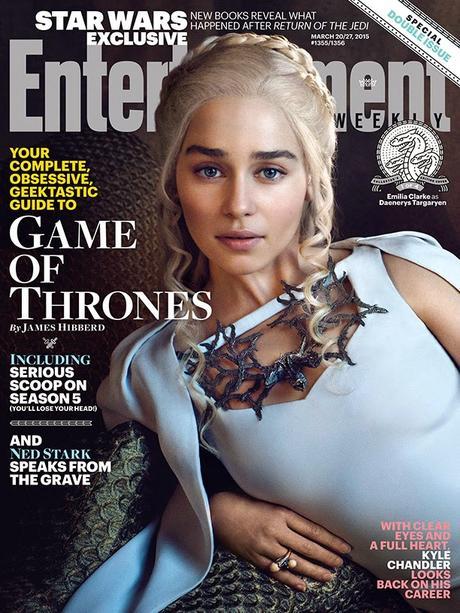 Game of Thrones : Quatre couvertures de magazine pour promouvoir la saison 5 !