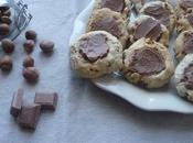 Cookies noisettes pralinoise