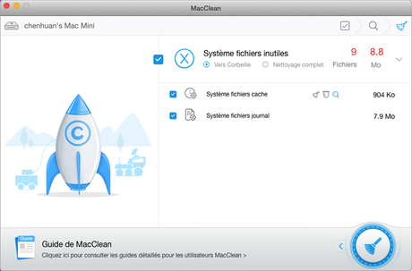 nettoyer son mac 10.9