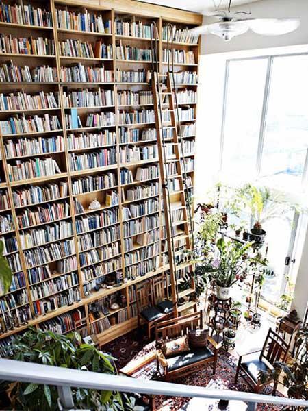 installer l'échelle de la bibliothèque pour bibliothèques ikea étagères