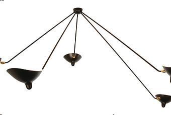histoire de design les luminaires de serge mouille d couvrir. Black Bedroom Furniture Sets. Home Design Ideas