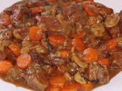 Boeuf carottes, champignons, pruneaux, raisins bière blonde)