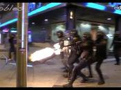 VIDÉO Chaos dans rues Madrid lors d'une manifestation contre l'austérité