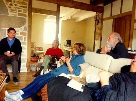 Photos du séminaire au Mas Del Lum à Boussac, mars 2015.