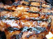 Côtelettes porc marinées sirop d'érable