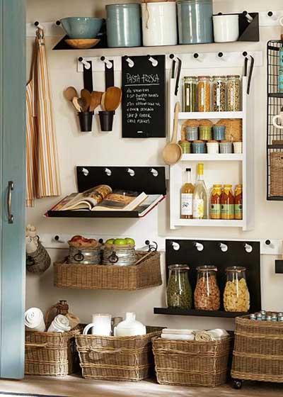 Rangement cuisine 10 solutions pratiques pour organiser - Meuble de rangement pour la cuisine ...