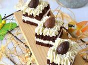 bicolore, ganache montée chocolat blanc fève tonka {Non-concours Pâques}