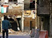 Palestiniens rebelles repris camp Yarmouk jihadistes l'État Islamique, Syrie.