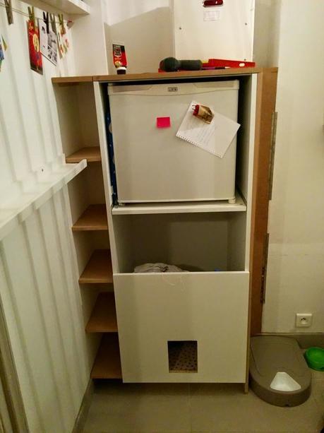 am nagement d un meuble sur mesure dans un renfoncement paperblog. Black Bedroom Furniture Sets. Home Design Ideas