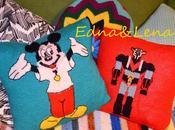 Diy: coussin vintage avec pull enfant chiné