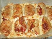 Escalopes dinde roulées jambon mozzarella