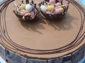 Entremet bavarois vanille chocolat