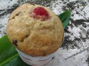 Muffins flocons d'avoine chocolat framboise thermomix kitchenaid