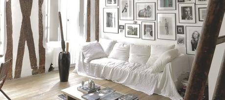 Appartement de charme avec poutres apparentes paperblog for Deco appartement poutre apparente