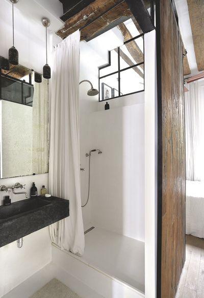 Appartement de charme avec poutres apparentes paperblog - Poutre espace ...