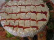 Salade façon bavarois crevettes