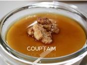 Flan sirop d'érable noix caramélisées