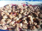 Crumble quetsches
