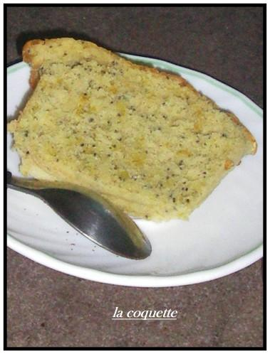 le cake aux citrons et pavot au lait fermenté (suite)....