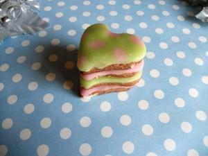 Biscuits sablés petit coeur