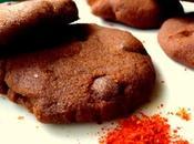 Sablé chocolat piment d'espelette