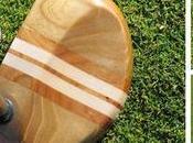 putters bois, objets décoration véritables clubs?