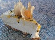 Bavarois chocolat blanc noix coco fruit passion