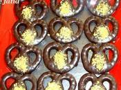 """Petits Sablés """"Bretzels"""" Chocolat"""