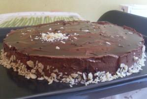 Entremet Chocolat / Amandes Caramélisées