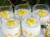 Blanc manger antillais coco/ananas