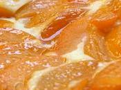 Tarte briochée abricots