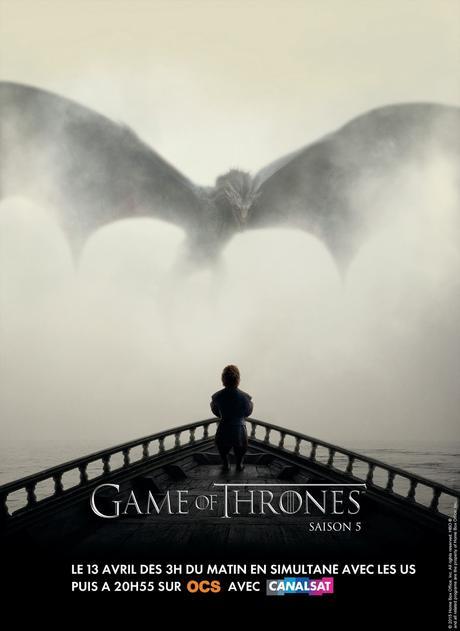 Game of Thrones saison 5 - affiche