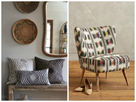tendance d co quand l ethnic devient chic paperblog. Black Bedroom Furniture Sets. Home Design Ideas
