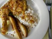 Tajine poulet poires rôties