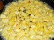 Dessert pommes caramélisées fromage blanc