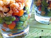 Salade légumes crumble italien