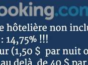 gare tâxe hôtelière avec booking.com