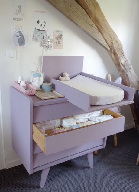 ma commode langer homemade voir. Black Bedroom Furniture Sets. Home Design Ideas