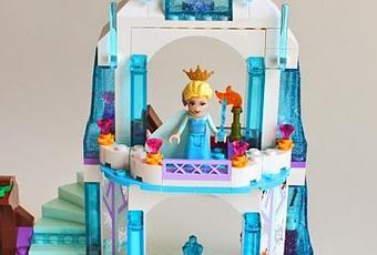 le palais de glace delsa ca casse les briques 7 paperblog