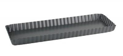 tarte rhubarbe rectangle paperblog. Black Bedroom Furniture Sets. Home Design Ideas