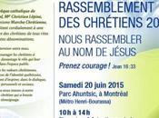 Marche chrétienne 2015 samedi juin Montréal