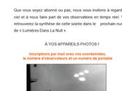 """Partenariat avec revue """"LUMIÈRES DANS NUIT"""""""