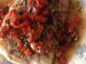 Morue fraîche rôtie baies roses poivre Sichuan