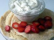 Pancakes Hollandais, fraises chantilly