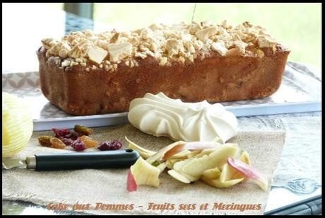 Cake Pomme Poire Farine Riz