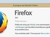 Firefox affiche options dans onglet comme Google Chrome