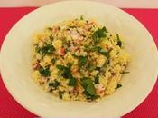 Taboulé radis, persil origan (Vegan)