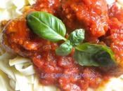 Boulettes veau l'Italienne, farcies mozzarella