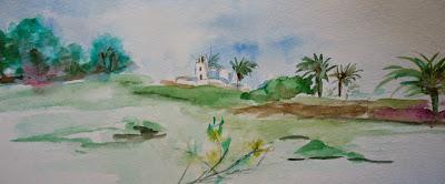Stages d'aquarelle au Maroc